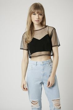 Swinger Crop Top by The Ragged Priest