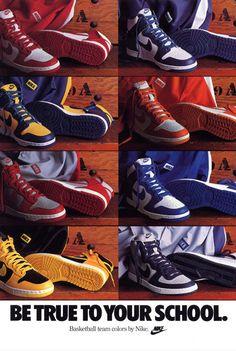Die original Nike Dunk aus den 80ern