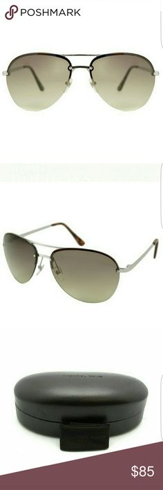 Michael Kors Kai Aviator Sunglasses in Gold See fourth pic for details!  Perfect for the slopes or for daily wear! Michael Kors Accessories Sunglasses