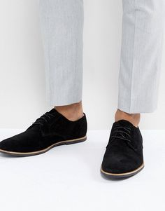 new concept 0b7f9 5fb44 Zign Shoes Suede Shoes In Black Herrskor, Svarta Skor, Ökenstövlar