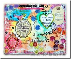 Art journal by Roby