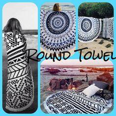 ¡Este verano lo más cool son las round towel! #RoundTowel #Parafernalia #Gijón #Oviedo #Asturias