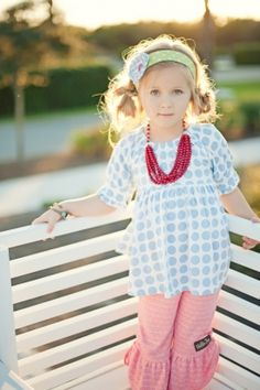 Matilda Jane! love matilda jane :) why would you make your daughter fight with you on what to wear? just give her a matilda jane wardrobe and call it a day..