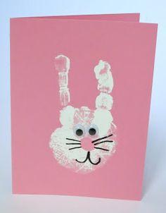 Bunny Handprint Cards