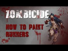▶ Talk Wargaming: How To Paint Zombicide Runners - YouTube. Not that I'm into painting minis anymore.