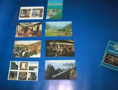 Venice Simplon Orient Express Set of 8 Unused Vintage Postcards. In Presentation Wallet. Perfect for Framing. Vintage Gifts, Vintage Postcards, Vintage Items, Simplon Orient Express, Travel Souvenirs, Agatha Christie, Silver Bars, Vintage Silver, Venice
