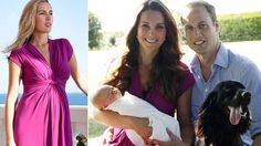 The maternity dress worn by Kate Middleton in the official royal family portraits sold out within hours!