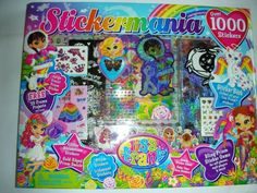 "BRAND NEW LISA FRANK ""STICKERMANIA"" OVER 1000 STICKERS in Crafts,Scrapbooking & Paper Crafts,Embellishments 