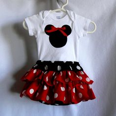 Alexa's 1st trip to Disneyland outfit!? Oh yes :)