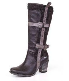 Dámske čižmy MUSTANG shoes 33C-101 Vel 41