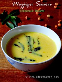 Majjiga Saaru | Buttermilk Rasam Recipe