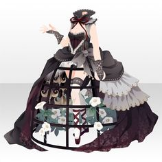 Fashion Art, Girl Fashion, Fashion Outfits, Model Outfits, Cute Outfits, Chica Cool, Anime Dress, Fashion Design Drawings, Drawing Clothes