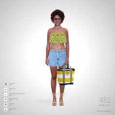 Roupa desenhada por Monica usando roupas de Zalando, Moda Operandi, Saks Fifth Avenue OFF 5TH, Forever 21, Call It Spring, Landsend. Estilo feito através do Trendage.