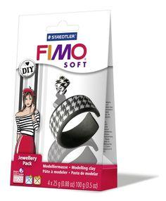 Wist je dat je van fimo klei super mooie sieraden kunt maken? We hebben handige DIY pakketjes om het uit te proberen! | www.bykaro.nl voor kralen, bedels en meer...