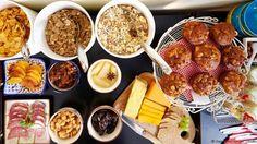 A lavish breakfast buffet (Credit: Credit: Sea View House, Doolin) Breakfast Buffet, Fertility, Cobb Salad, Cheese, Ethnic Recipes, Food, Sea, Food Food, Breakfast Buffet Table