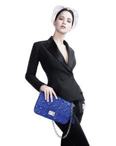 Jennifer Lawrence, la nueva cara de la bolsa Miss Dior.