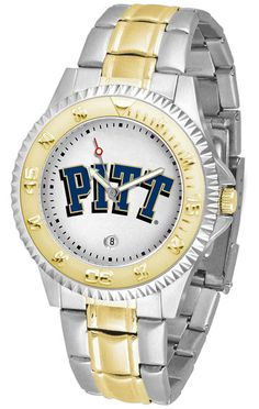 Pittsburgh Panthers Men's Competitor Two-Tone Watch