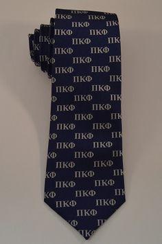 Pi Kappa Phi Letter Neck Tie