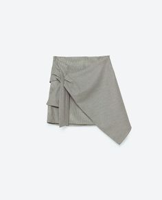 Image 8 of HOUNDSTOOTH CHECK SKIRT from Zara