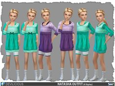 Sims 4 CC's - The Best: Clothing for Devilicious