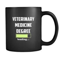 Vet Student - Veterinary medicine degree loading Full Color Mug Veterinarian Career, Medical Wallpaper, Vet Assistant, Animal Medicine, Medicine Student, Vet Med, Animal Science, Veterinary Medicine, Student Motivation