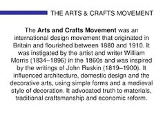 Image result for arts and crafts movement
