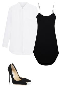 """""""Untitled #27"""" by yasminabuwi on Polyvore featuring Maiyet and Jimmy Choo"""