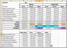 Word y Excel: Ejercicio de EXCEL para practicar buscarv,formato ...