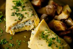 Goat Cheese and Fresh Herb Omelet Recipe - CHOW