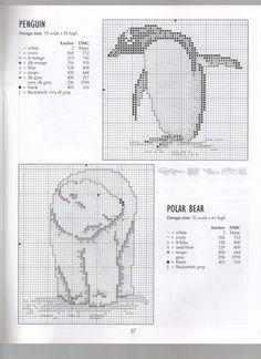 PENGUIN............POLAR BEAR