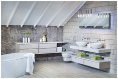 There are a lot of available options when it comes to bathroom furniture in the UK. If you are looking for designer bathroom furniture in the UK, you can check out Utopia Furniture Limited. White Bathroom Storage, White Bathroom Furniture, Neutral Bathroom, Bathroom Inspo, Contemporary Bathrooms, Interior Design, Aragon, Ranges, Calming