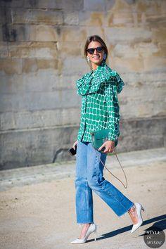 Paris Fashion Week SS 2016 Street Style: Helena Bordon