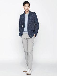 Kim Soo Hyun - ZIOZIA Spring 2015