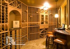 Gorgeous Wine Cellar and Mini Bar