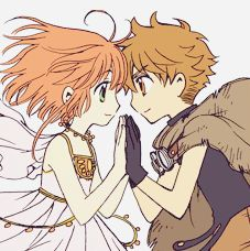 Syaoran Li (李小狼) & Sakura (サクラ) | Tsubasa: RESERVoir CHRoNiCLE (ツバサ -RESERVoir CHRoNiCLE-), TCR, Tsubasa | CLAMP