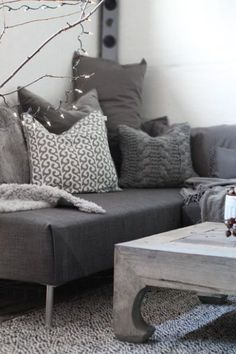 DIY sofa sectional using two