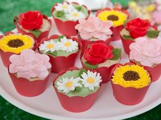 cupcakes decorados d