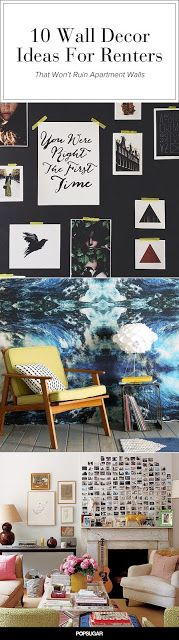 Damage-Free Ways to Decorate Your Walls | Home Decoration
