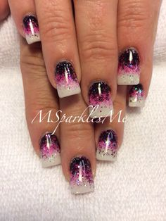 Valentine nails   See more nail designs at http://www.nailsss.com/acrylic-nails-ideas/2/