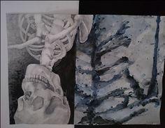 "Check out new work on my @Behance portfolio: ""Skeleton 50x70cm"" http://be.net/gallery/45790143/Skeleton-50x70cm"