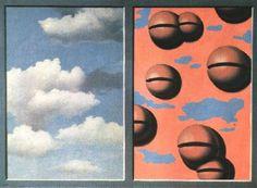 Pink Bells, Tattered Skies by Rene Magritte, Spain, Madrid, Reina Sofia Museum of Modern Art Stock Photo Rene Magritte, Salvador Dali, Magritte Paintings, Skier, Bell Art, Canvas Poster, Art Moderne, Conceptual Art, Surreal Art