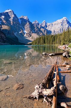 Moraine Lake In Canada #places #photography #outdoors #scenery #nature #beautiful