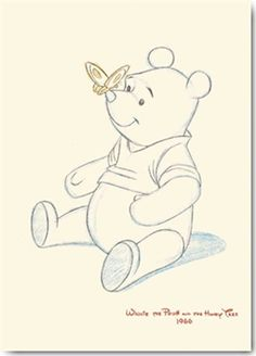 winnie the pooh with honey sculpture | ... Disney - Kunstdruck / Art Poster - Winnie the Pooh and the Honey Tree