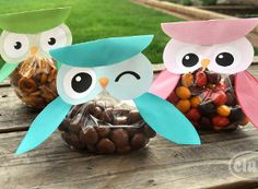 Free Printable Owl Treat Pouch | AllFreeKidsCrafts.com