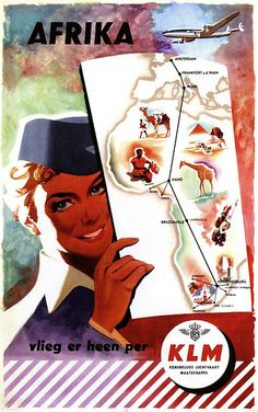 KLM & Afrika, 1954***Research for possible future project.