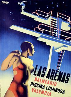 Vintage Spain Travel Posters Gallery 2
