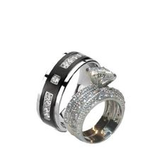 LESA MICHELE 7.5 Inch 42 Cttw Large Round Cubic Zirconia Tennis Bracelet for Women in Rhodium Plated Brass
