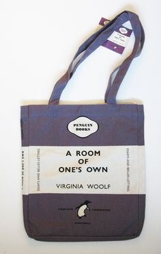 "Do you love Virginia Woolf's A ROOM OF ONE""S OWN?"