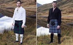 Discount supermarket Lidl is threatening to turn the UK tartan in time for   Burns Night with its new range of cheap and cheerful Scottish Highland wear
