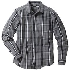 Das graue #Hemd mit #Karomuster ist super für die Freizeit ab 18,99€ ♥ Hier kaufen: http://stylefru.it/s696609 #kariert #grau